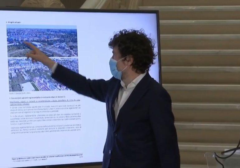 Nicușor Dan a descoperit 23 de motive pentru care PUZ-urile de sector fac rău Bucureștiului și ar trebui deființate