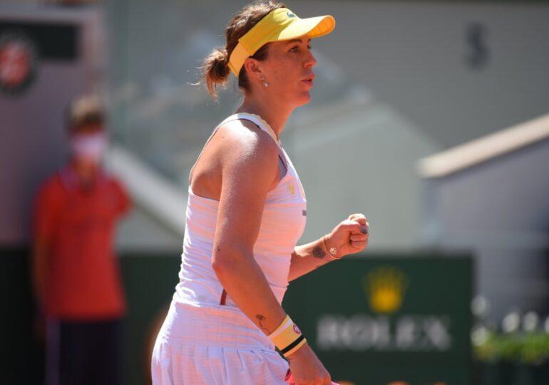 Anastasia Pavlyuchenkova e prima finalistă de la Roland Garros