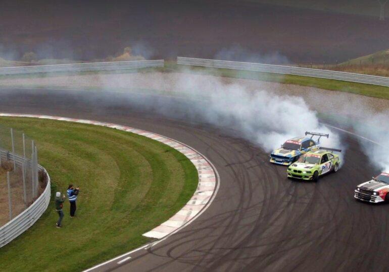 Drift: 20.000 de cai putere sunt gata de spectacol pe Transilvania Motor Ring