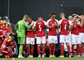 UEFA, gest superb după ce Eriksen s-a prăbușit pe teren în meciul Danemarca - Finlanda de la EURO 2020