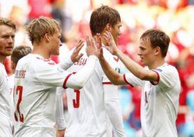 EURO 2020: Danemarca învinge Țara Galilor la scor și se califică în sferturile de finală