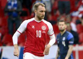 Christian Eriksen, victima unui fake news după incidentul de la EURO 2020