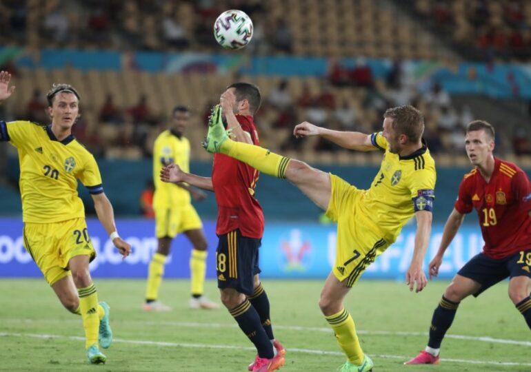 EURO 2020: Spania se împiedică de Suedia