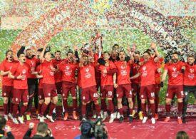 Gafă de proporții a președintelui FRF Răzvan Burleanu. Ce echipe a anunțat în Supercupa României