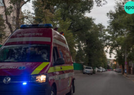 Accident cu 3 mașini lângă Brașov. Unul dintre șoferi avea o alcoolemie uriașă
