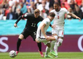 Anglia învinge Germania și merge în sferturi la EURO 2020