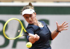 Barbora Krejcikova ajunge în sferturi la Roland Garros după o prestație impresionantă