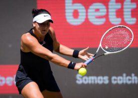 Bianca Andreescu, învinsă categoric la Eastbourne