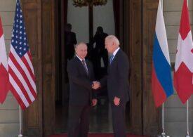 Joe Biden s-a întâlnit cu Vladimir Putin - cele mai importante momente și declarații (Foto & Video)