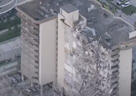 O persoană a murit şi aproape o sută sunt căutate după prăbuşirea unui bloc de lux în Florida (Video)