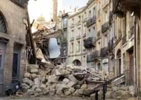 Două clădiri s-au prăbușit în Bordeaux. Salvatorii s-au declarat în fața unui miracol (Video)