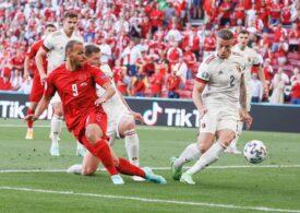 EURO 2020: Belgia învinge Danemarca