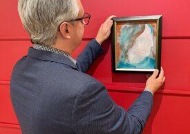 Cumpărat cu 5 dolari, un tablou pictat de David Bowie a fost vândut la licitaţie cu 108.120 de dolari canadieni