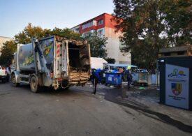 Iar e gunoi pe străzi la Ploieşti: Angajaţii Rosal fac grevă din nou