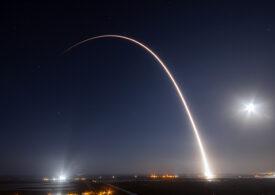 Sateliții lui Elon Musk s-au văzut pe cer și din România