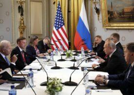 SUA și Rusia au emis o declarație comună, după summitul de la Geneva, chiar dacă Biden și Putin n-au ieșit împreună în conferința de presă