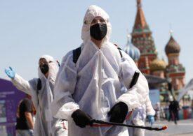 Moscova - nou record de cazuri de Covid, pentru a doua zi consecutiv