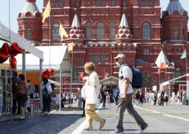 Rusia raportează peste 20.000 de cazuri de Covid din cauza variantei Delta, cu record de morţi la Moscova