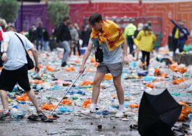 Scoțienii au făcut dezastru în Londra înaintea meciului de la EURO, dar au strâns după ei (Video)
