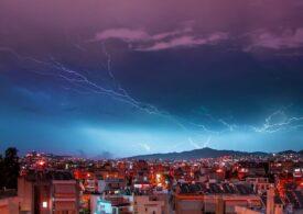 Atenționare de călătorie în Grecia: Furtuni și vânt puternic în următoarele trei zile