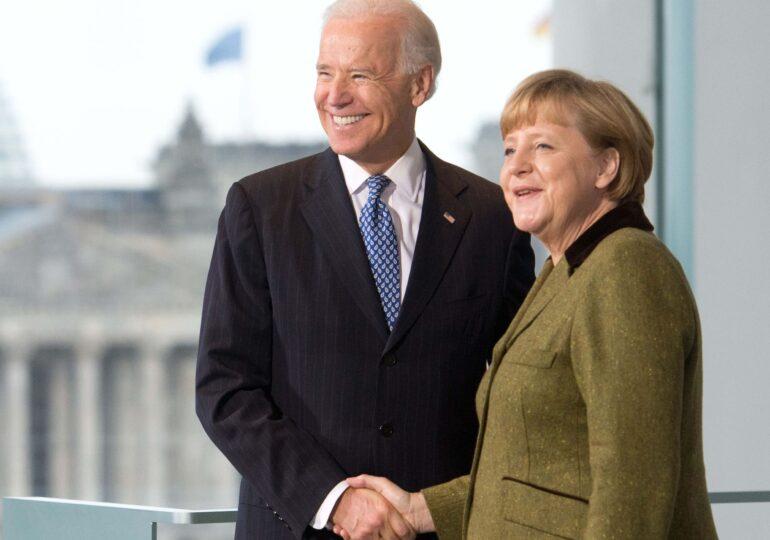 Joe Biden a invitat-o pe Merkel în SUA, înainte să plece de la conducerea Germaniei
