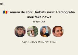 Bărbații nasc! Radiografia unui fake news. Discutăm în Camera de Știri. Intră și tu!
