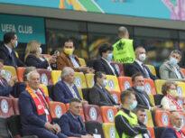 Orban, întrebat de locul la VIP de pe stadion: Am fost invitat de Nicușor Dan. Nu știu ce se urmărește cu subiectul ăsta
