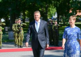 Klaus Iohannis a fost primit de președintele Estoniei: Trebuie să fim mai puternici