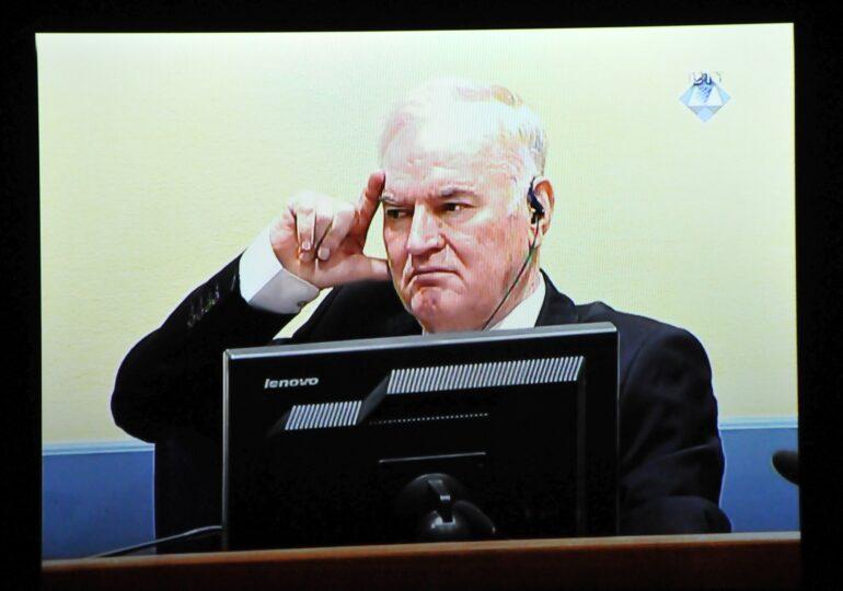 Ratko Mladici a fost condamnat definitiv la închisoare pe viață pentru genocid