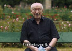 Victor Rebengiuc a răspuns provocării lansate de CNCAV: Pentru mine vaccinul conţine siguranţă