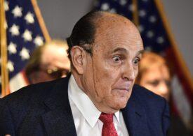 Rudy Giuliani a fot suspendat ca avocat în New York din cauza minciunilor spuse pentru Trump