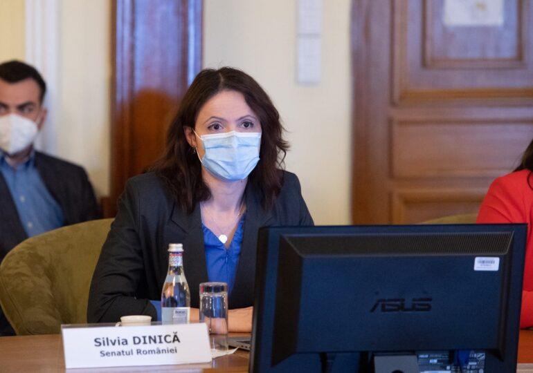 Senatorul Silvia Dinică (USR) acuză presiuni incredibile pe legea Romexpo: Vor să scoată de la raport Comisia Economică!