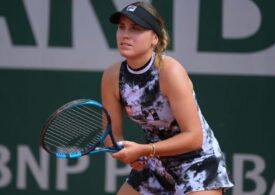 Sofia Kenin, învinsă categoric la Roland Garros