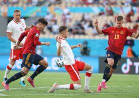 EURO 2020: Spania a călcat strâmb cu Polonia