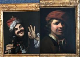 Un bărbat a găsit două tablouri vechi de 350 de ani într-un container de gunoi