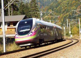 """Iar a deraiat un tren privat de marfă <span style=""""color:#ff0000;font-size:100%;"""">UPDATE</span> Circulația a fost deblocată după 7 ore"""
