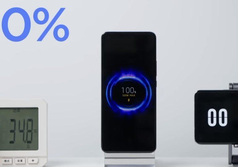 Xiaomi prezintă un nou sistem de încărcare a telefoanelor: de la 0 la 100% în 8 minute (Video)