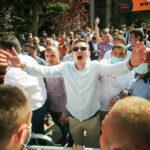 """Alegeri cu scandal și forţe de ordine la intrare, la PNL Timişoara (Video) <span style=""""color:#ff0000;font-size:100%;"""">UPDATE</span> Orban ia în calcul anularea alegerilor"""