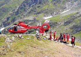 O turistă din Piteşti a murit în Munții Făgăraș. Elicopterul a venit, dar n-au mai putut să o salveze