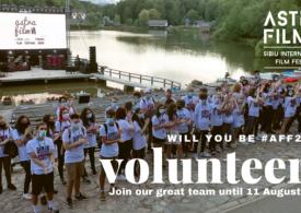 Astra Film Festival Sibiu caută voluntari din toată țara