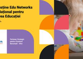 14 școli din București și Ilfov sunt implicate în programul Edu Networks pentru digitalizarea procesului educațional