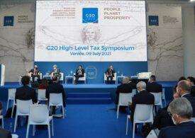 Taxarea multinaţionalelor pe profit cu minimum 15% a fost aprobată și în G20
