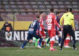 Liga 1: Dinamo învinge Voluntari după un meci spectaculos