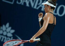 Gabriela Ruse ajunge la 12 victorii la rând și bifează o nouă semifinală de turneu WTA