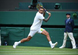 Nick Kyrgios, abandon de ultimă oră la Wimbledon