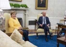 Vizita lui Merkel la Casa Albă: Multe cuvinte frumoase, niciun rezultat