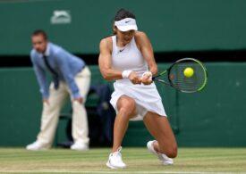 Prima reacție a Emmei Răducanu după calificarea în optimi la Wimbledon