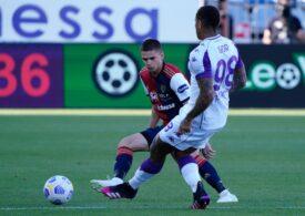 Răzvan Marin, titular într-o demonstrație de forță a lui Cagliari. 16 goluri marcate în startul sezonului (Video)