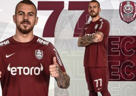 CFR Cluj l-a prezentat pe Denis Alibec