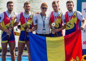 Jocurile Olimpice: România obține medalia de argint la canotaj, la patru rame masculin